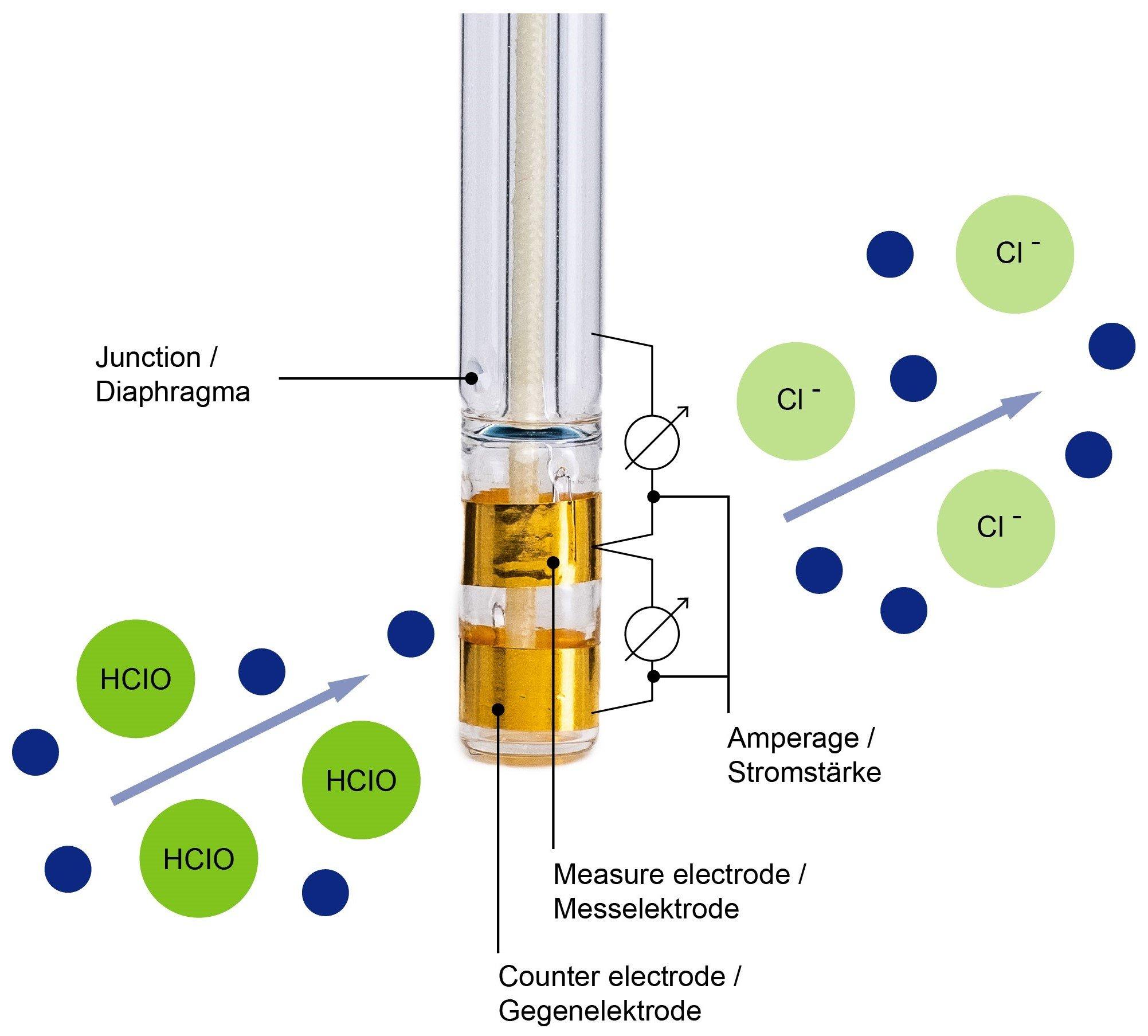 Disinfection measurement by Kuntze